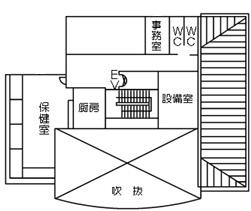 保健室案内図