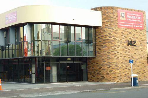 今回の研修地ワイカト大学パスウェイズ校は市内中心部に位置します