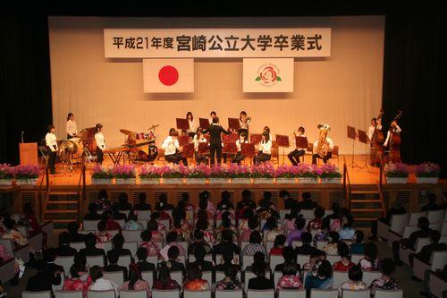 平成21年度宮崎県吹奏楽コンクール銀賞受賞の本格派!