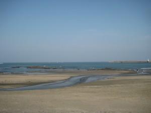 ゴールデンウィークの青島の海!