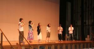 アカペラ部☆新入生には初舞台!とは思えない♪いくつもの声が一つに重なっていく・・・。