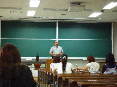 木村先生、講義中!