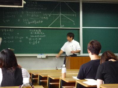 石塚先生の講義です!