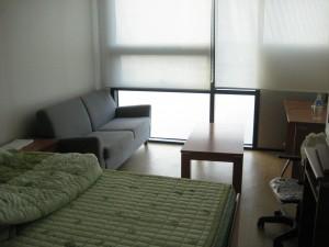 蔚山大留学生宿舎の部屋