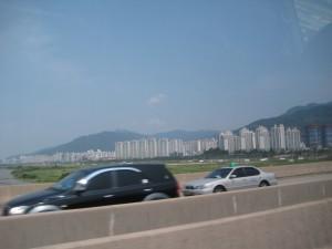 地震のない韓国は高いアパートがたくさん!
