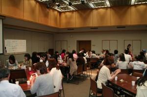 宮崎公立大学生による市民向け韓国語講座に研修生も参加