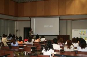 日本語講座内プログラム「私は特派員」…日本語で市民の方に韓国を紹介