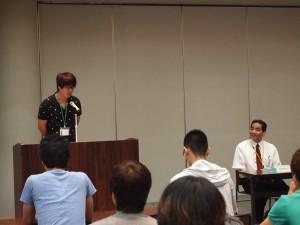 開講式④ 蔚山大学校を代表してソン