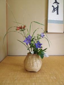 今回のために○○先生が生けてくださったお花☆