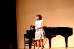ピアノと声の「アンサンブル」。