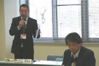 田代凌雲会館長による司会進行です。