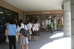 学生によるキャンパスツアー